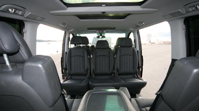 Mercedes Viano Interior 2