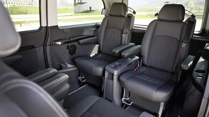 Mercedes Viano Interior
